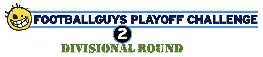 Footballguys Playoff Challenge Divisional Round
